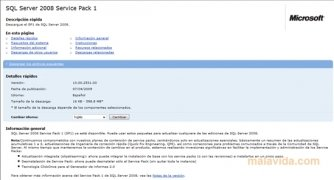 SQL Server 2008 SP1 immagine 2 Thumbnail