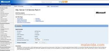 SQL Server 7 SP4 imagem 2 Thumbnail
