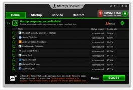 Startup Booster image 5 Thumbnail