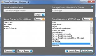 SteamTool Library Manager Изображение 2 Thumbnail