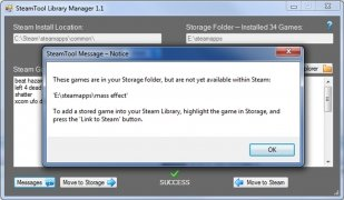 SteamTool Library Manager Изображение 3 Thumbnail