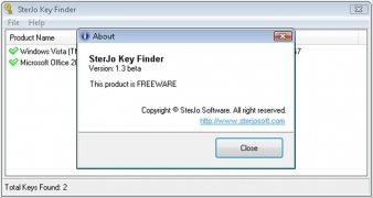 SterJo Key Finder image 2 Thumbnail