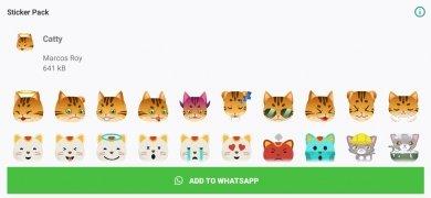 Stickers de Gatos para WhatsApp imagen 1 Thumbnail