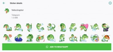 Telegram Stickers for WhatsApp imagem 2 Thumbnail