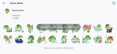 Telegram Stickers for WhatsApp imagem 4 Thumbnail