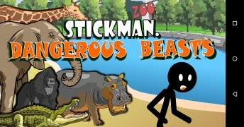 Stickman Animals Killer imagen 1 Thumbnail