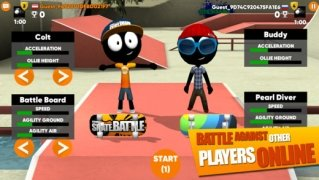 Stickman Skate Battle bild 4 Thumbnail