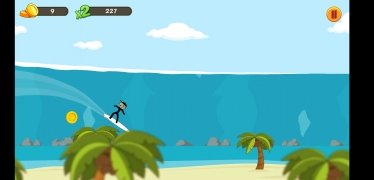 Stickman Surfer imagen 6 Thumbnail