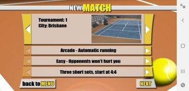 Stickman Tennis imagem 3 Thumbnail