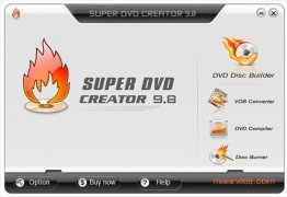 Super DVD Creator Изображение 1 Thumbnail
