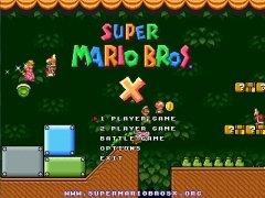 Super Mario Bros. X bild 1 Thumbnail