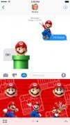 Super Mario Run Stickers image 1 Thumbnail