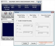 Super MP3 Recorder image 3 Thumbnail