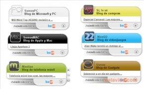 Swebloo RSS Gadgets imagen 2 Thumbnail