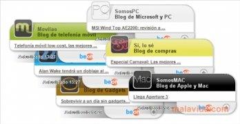 Swebloo RSS Gadgets imagen 3 Thumbnail