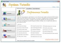 System Tweaks imagen 3 Thumbnail