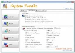System Tweaks imagen 4 Thumbnail