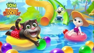 Talking Tom Bubble Shooter image 1 Thumbnail