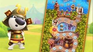 Talking Tom Bubble Shooter imagem 2 Thumbnail