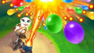 Talking Tom Bubble Shooter imagem 3 Thumbnail