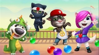 Talking Tom Bubble Shooter imagem 4 Thumbnail