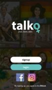 Talko: Lesbian Dating & Chat immagine 2 Thumbnail