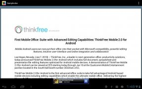 ThinkFree Office Mobile Viewer immagine 7 Thumbnail