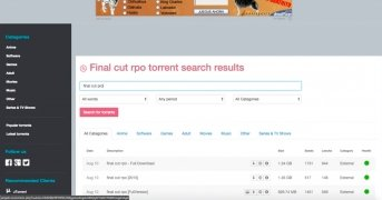 Torrent Reactor bild 3 Thumbnail
