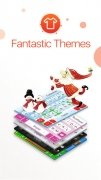 TouchPal Keyboard - conceba o seu teclado com tema, font e emoji imagem 1 Thumbnail