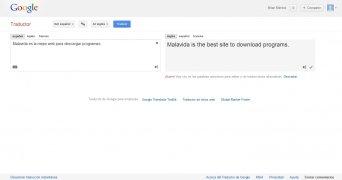 Traductor de Google imagen 2 Thumbnail