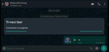 Transcriber for WhatsApp imagen 1 Thumbnail