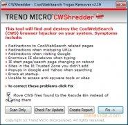 Trend Micro CWShredder imagen 1 Thumbnail