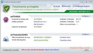 TrustPort Antivirus imagem 1 Thumbnail