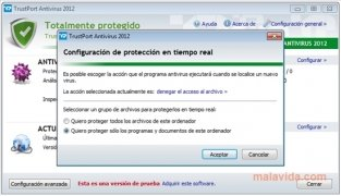 TrustPort Antivirus immagine 5 Thumbnail