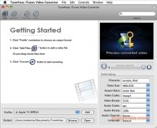 Tune4mac iTunes Video Converter bild 2 Thumbnail