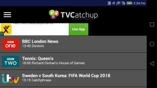 TVCatchup - Watch Free Live TV imagen 1 Thumbnail