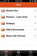 Ubuntu One Files imagen 1 Thumbnail