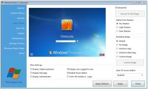 Ultimate Windows Customizer immagine 1 Thumbnail
