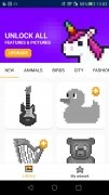 UNICORN - Color by Number Pixel Art Game image 1 Thumbnail