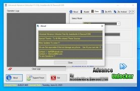 Universal Advance Unlocker Изображение 2 Thumbnail
