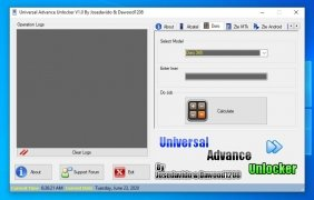 Universal Advance Unlocker Изображение 3 Thumbnail