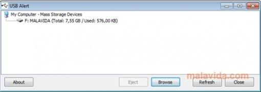 USB Alert Изображение 1 Thumbnail