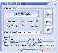 uTorrent Turbo Accelerator imagen 1 Thumbnail