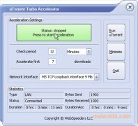 uTorrent Turbo Accelerator imagem 2 Thumbnail