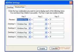 Virtual Desktop Manager image 4 Thumbnail