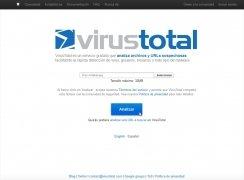 VirusTotal imagen 1 Thumbnail