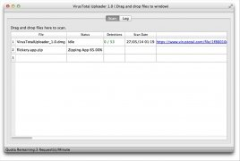 VirusTotal Uploader imagen 2 Thumbnail
