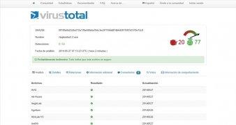 VirusTotal Uploader imagem 4 Thumbnail