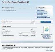 Visual Basic 6 SP6  Español imagen 2