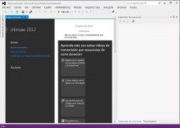 Visual Studio 2012 imagen 1 Thumbnail